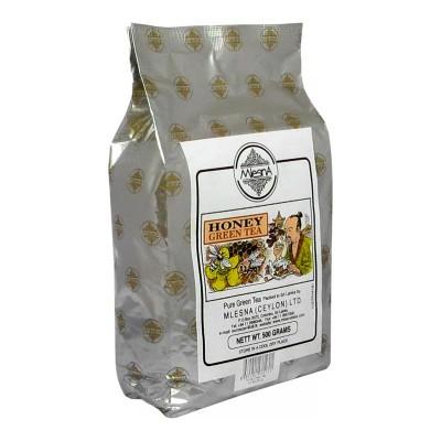 Mlesna Мед зеленый чай 500г