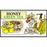 Mlesna Мед зеленый чай 100г