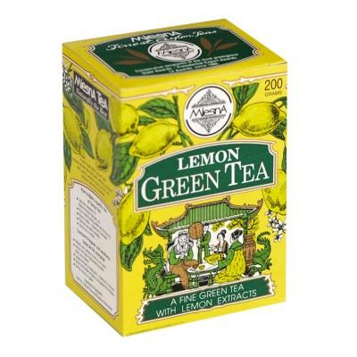 Mlesna Лимон зеленый чай 200г