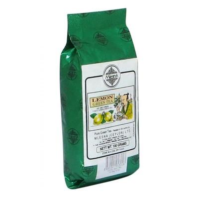 Mlesna Лимон зеленый чай 100г