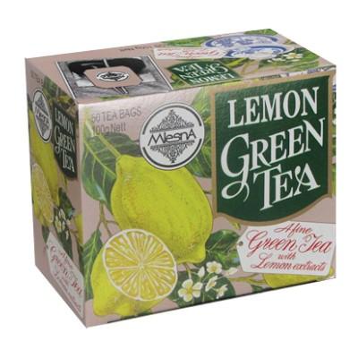 Mlesna Лимон зеленый чай 50шт