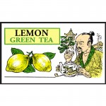Mlesna Лимон зеленый чай д/к 100г