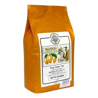 Mlesna Манго зеленый чай 500г