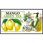 Mlesna Манго зеленый чай 100г