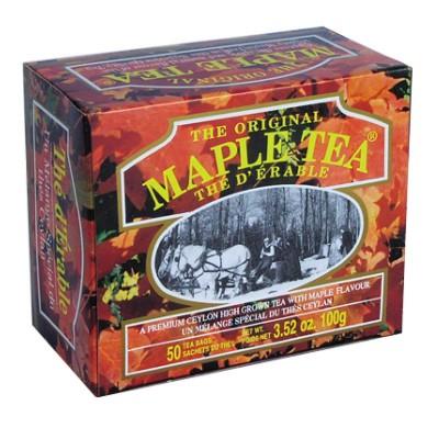Mlesna Кленовый сироп черный чай 50шт