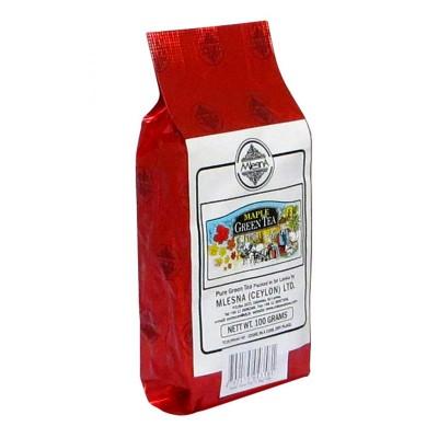 Mlesna Кленовый сироп зеленый чай 100г