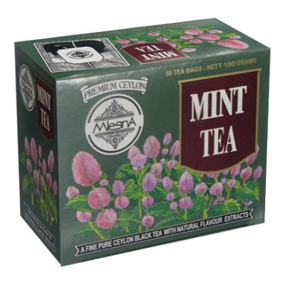 Mlesna Мята черный чай 50шт