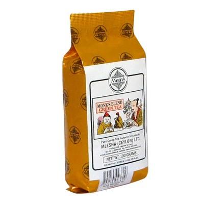 Mlesna Манкс Бленд зеленый чай 100г