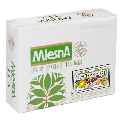 Mlesna Персик Абрикос черный чай 200шт
