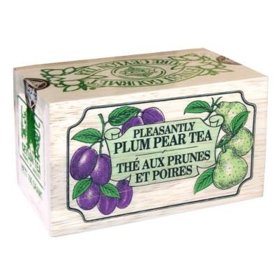 Mlesna Слива Груша черный чай д/к 100г