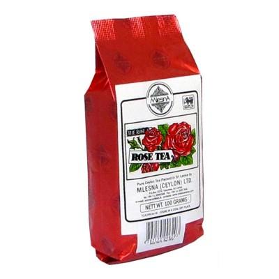 Mlesna Роза черный чай 100г
