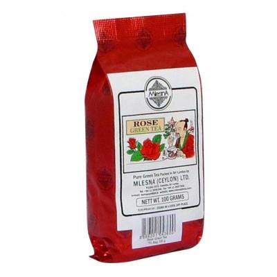 Mlesna Роза зеленый чай 100г