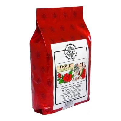 Mlesna Роза зеленый чай 500г
