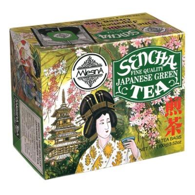 Mlesna Sencha зеленый чай 50шт