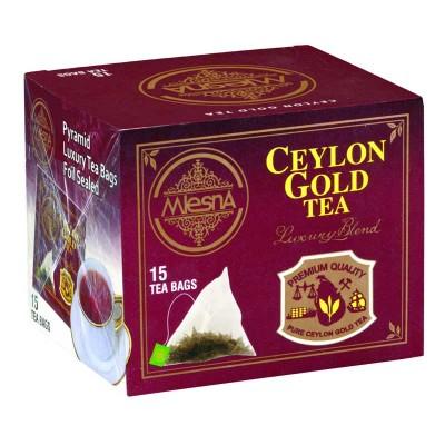 Mlesna Ceylon Gold черный чай 15шт