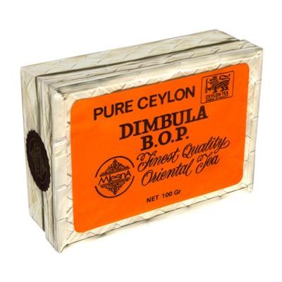 Mlesna Dimbula черный чай корзинка 100г