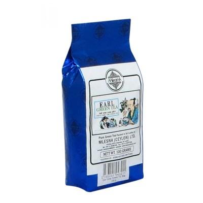Mlesna Earl Grey зеленый чай 100г