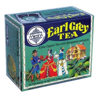 Mlesna Earl Grey черный чай 50шт