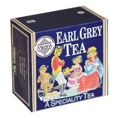 Mlesna Earl Grey черный чай 50шт фольга
