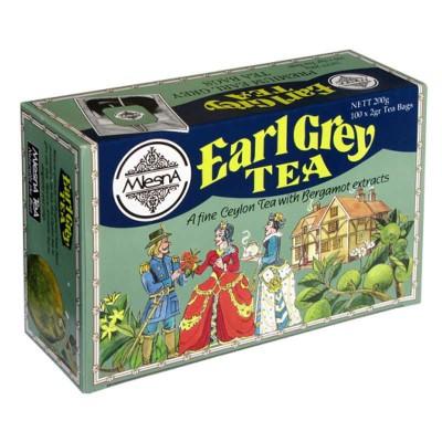 Mlesna Earl Grey черный чай 100шт