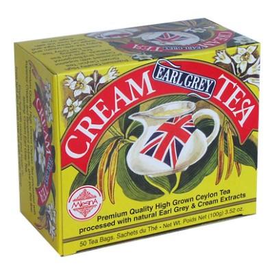 Mlesna Cream Earl Grey черный чай 50шт