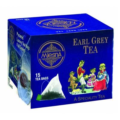 Mlesna Earl Grey черный чай 15шт