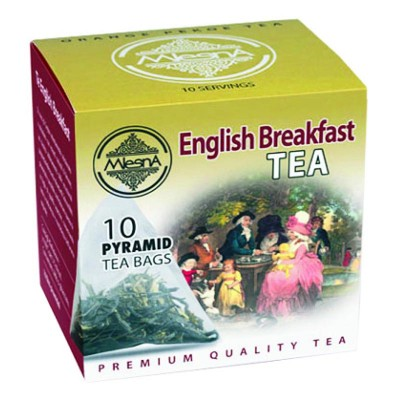 Mlesna English Breakfast черный чай 10шт