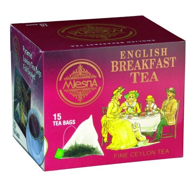Mlesna English Breakfast черный чай 15шт