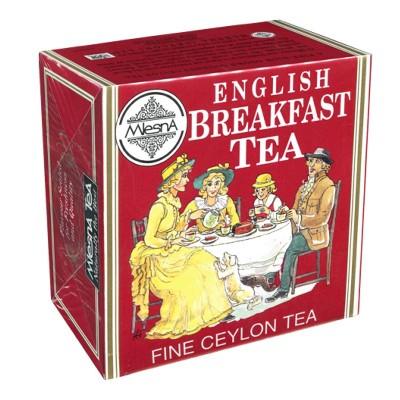 Mlesna English Breakfast черный чай 50шт фольга