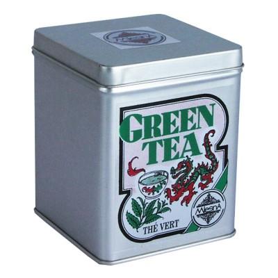 Mlesna Зеленый крупнолистовой чай ж/б 100г