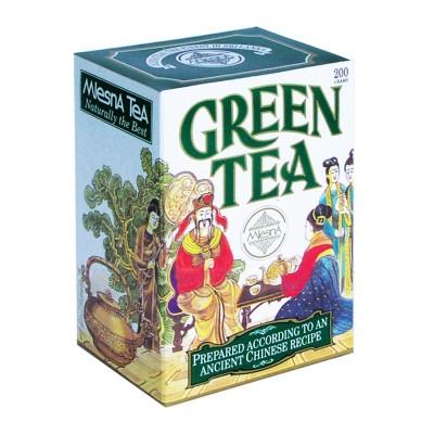 Mlesna Зеленый крупнолистовой чай карт. 100г