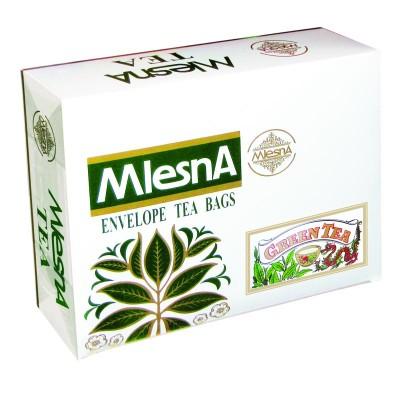 Mlesna Зеленый крупнолистовой чай 200шт