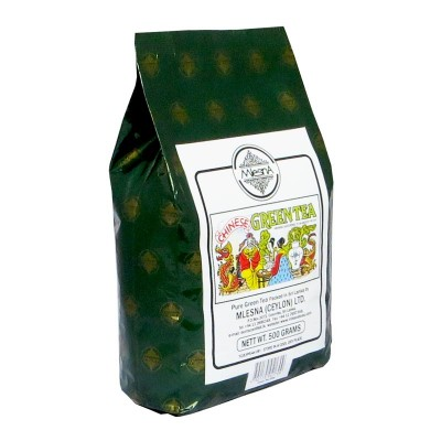 Mlesna Зеленый крупнолистовой чай 500г