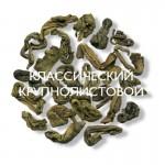 Mlesna Зеленый крупнолистовой чай 100г
