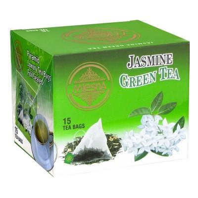 Mlesna Жасмин зеленый чай 15шт