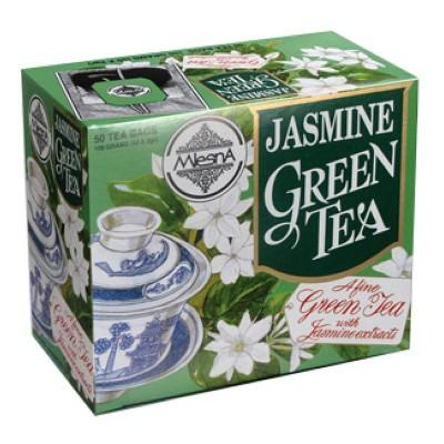 Mlesna Жасмин зеленый чай 50шт