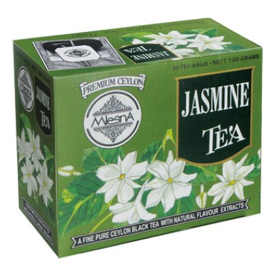 Mlesna Жасмин черный чай 50шт