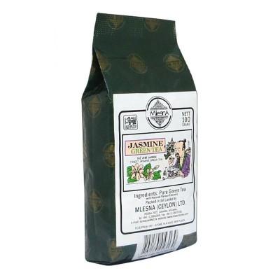 Mlesna Жасмин зеленый чай 100г