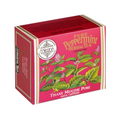 Mlesna Перечная Мята Травяной чай 50шт фольга