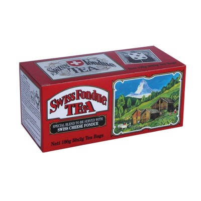 Mlesna Swiss Fondue черный чай 50шт