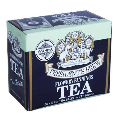 Mlesna President's Brew черный чай 50шт