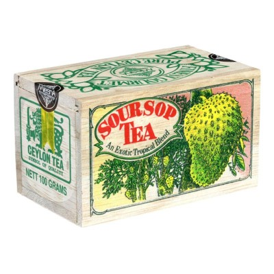 Mlesna Soursop черный чай д/к 100г