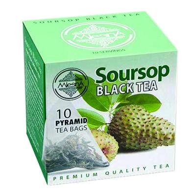 Mlesna Soursop черный чай 10шт