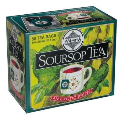 Mlesna Soursop черный чай 50шт