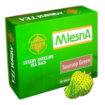 Mlesna Soursop зеленый чай 200шт