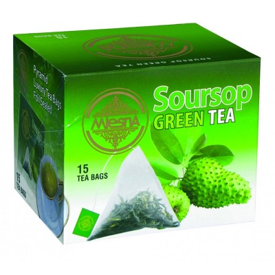 Mlesna Soursop зеленый чай 15шт