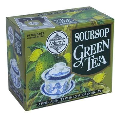Mlesna Soursop зеленый чай 50шт