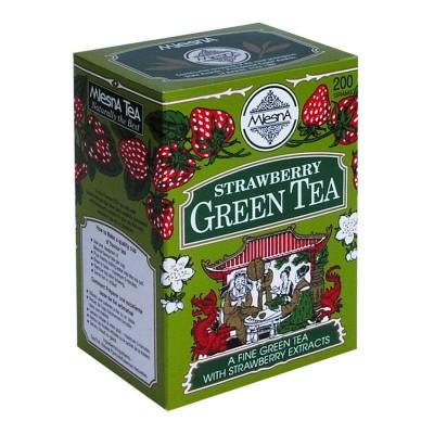 Mlesna Клубника зеленый чай 200г