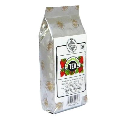 Mlesna Клубника черный чай 100г