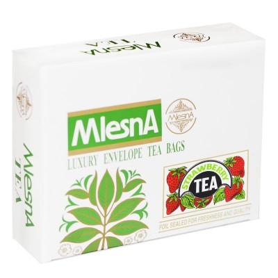 Mlesna Клубника черный чай 200шт